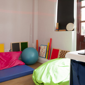 Activity space at Caxton Lodge